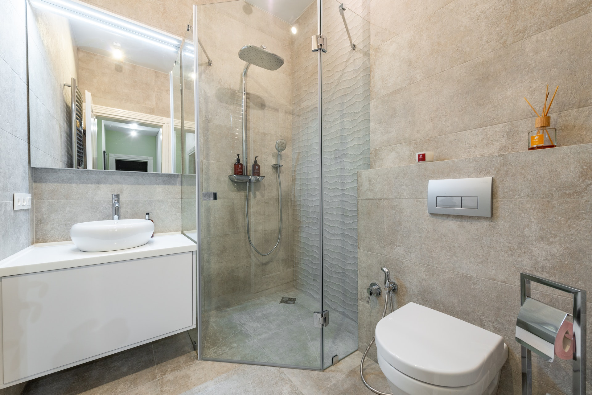 What To Do With Oddly Shaped Bathrooms